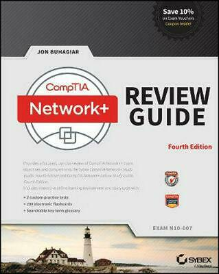 Comptia Network+ Review Guide: Exam N10-007 by Jon Buhagiar (English) Paperback