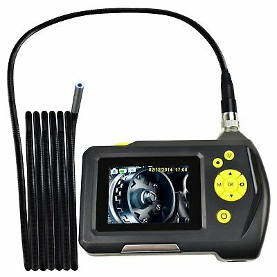 3M Cable Digital Inspection Camera Endoscope Borescope 8.2mm Handheld Car Scope