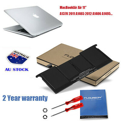 "5200mAh Battery For Apple MacBook Air 11"" A1370 2011 A1465 2012 A1406 A1495 New"