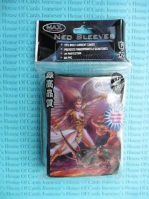 Yu-Gi-Oh 50 x Max Protection Neo Sleeves Angel vs Demon Deck Protectors