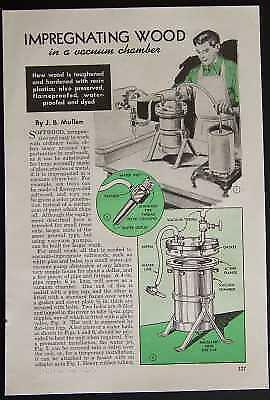 Vacuum Chamber How-To build PLANS for Resin/Dye/Waterproof Wood INFO