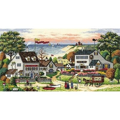 Dimensions Counted X Stitch -gold, Cosy Cove - Cross Gold Kit D03896 Cozy