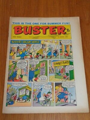 Buster 1St August 1970 Fleetway British Weekly Comic*