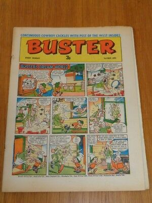 Buster 1St May 1971 Fleetway British Weekly Comic*