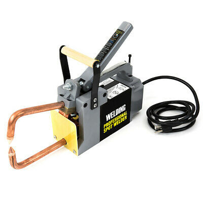 "Electric Spot Welder 1/8"" Single Phase Portable Handheld Welding tip Gun 110 V"