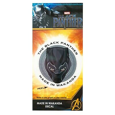 643a5b002b1 BLACK PANTHER MADE In Wakanda 3.5 Inch Sticker Black -  7.98