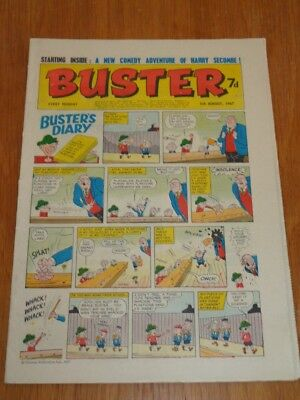 Buster 5Th August 1967 Fleetway British Weekly Comic*