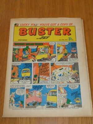 Buster And Jet 2Nd June 1973 Fleetway British Weekly Comic*