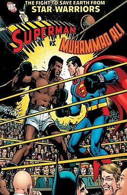 SUPERMAN v MUHAMMAD ALI Iconic 1978 DC Cover