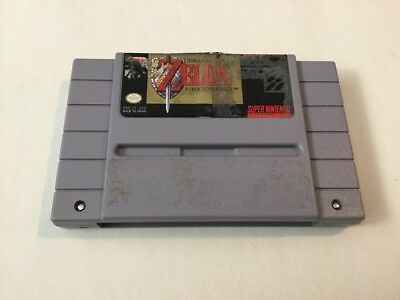 The Legend of Zelda: A Link to the Past for the SNES Super Nintendo !!!