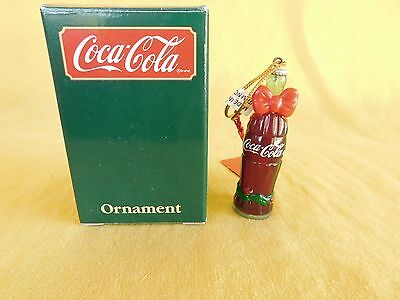 "Coca Cola ""Bottle of Coke"" Ornament (1991) #38002  New in box - Gift Quality"