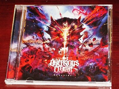 Aversion's Crown: Xenocide CD 2017 Nuclear Blast Records USA NB 3480-2 Original