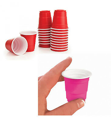 20 Party Shot Cups - Party Supplies fnt