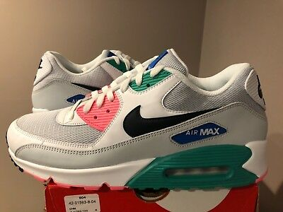 brand new 57a6f 09b9b Nike Air Max 90 Essential Summer Sea Watermelon South Beach AJ1285-100 sz 9-