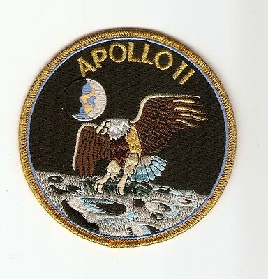 +  APOLLO 11 Aufnäher Patch  Logo
