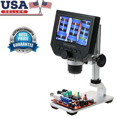 Portable 600X LCD 3.6MP Electronic Digital Video Microscope for Mobile Phone New