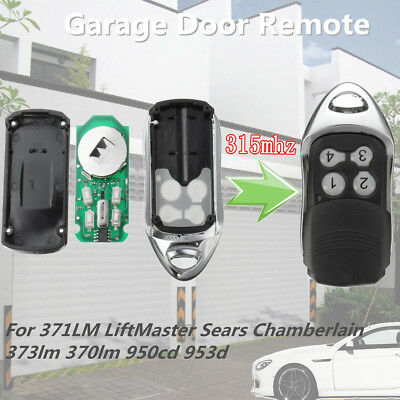 Garage Remote For Chamberlain Craftsman LiftMaster Sear 371/373/370lm 950cd