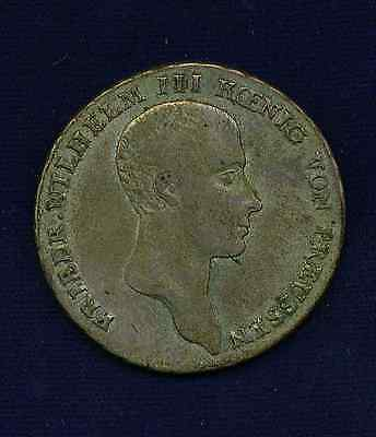 Germany Prussia 1814-A 1 Thaler  Silver Coin,  Xf+