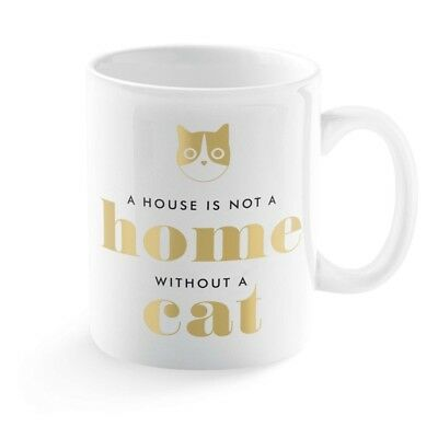 Graphic Home Cat Mug,  Funny Cats by Fringe Studio
