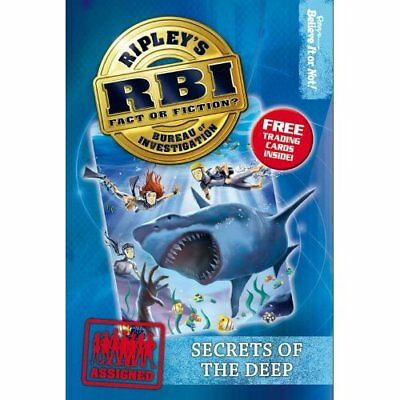 Secrets of the Deep (Ripley RBI Series #4) - Paperback NEW Believe It Or N 2010-