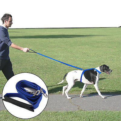 Dog Pet Harness Training Instant  Leash Lead Stop Pulling Anti Pull  Control Dog