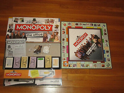 2007 Hasbro Monopoly The Office Collector S Edition Board Missing Tokens