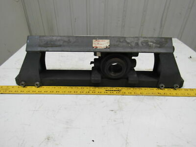 "Link-Belt DS-B22435H-12 Hinged Top 12"" Travel Belt Take Up Assembly 2-3/16"" Bore"