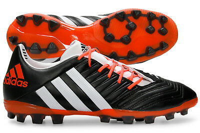adidas Mens Predator Incurza TR AG Rugby Boots Sports Shoes Studs Black Training