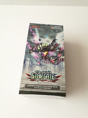 Cardfight Vanguard G: The Galaxy Star Gate Booster Display Box: 12 Packs NEW