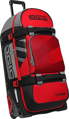 OGIO Rig 9800 Special Ops Wheeled Gear Bag Red/Hub
