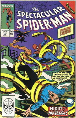 The Spectacular Spider-Man Comic Book #146 Marvel 1989 NEAR MINT NEW UNREAD