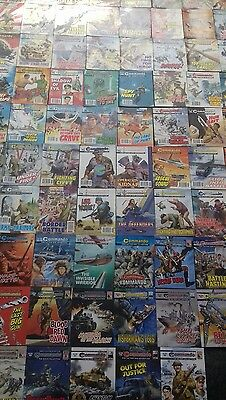 85 X Commando War Stories In Pictures,war Comics,job Lot Collection