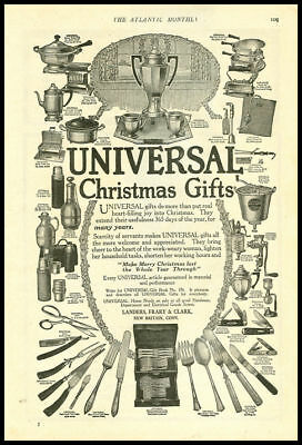 1920s vintage ad for Universal Christmas Gifts