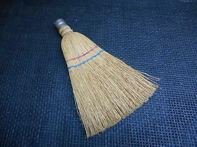 Antique Primitive Hand Held WHISK BROOM Wall Decor Old Vtg Hanging