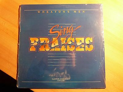 "12"" LP - Wheaton's Men - Sing Praises - Clayton Halvorsen - Sealed / Neu"