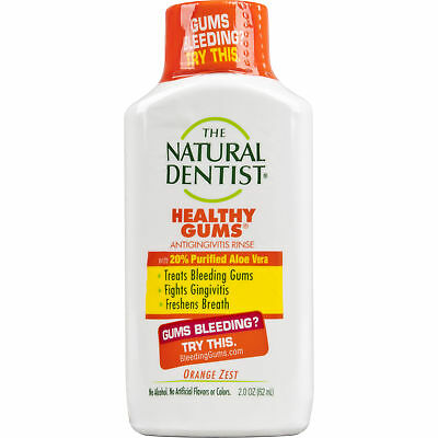 The Natural Dentist Healthy Gums - 2 fl oz Orange Zest Antigingivitis Rinse