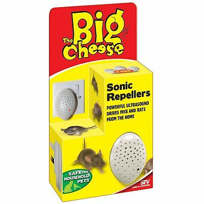STV International The Big Cheese Mouse And Rat Sonic Repeller (Pack Of (VP4521)