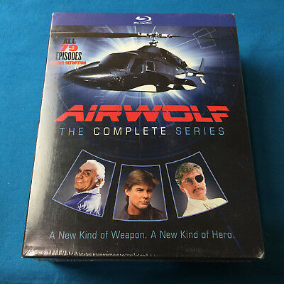 Airwolf: Complete Series Blu-ray ✔USA Seller ✔Ships Same Day For Free!!
