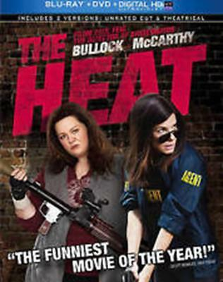 THE HEAT (Blu-ray/DVD, 2013, 2-Disc Set, Canadian) New / Sealed / Free Shipping