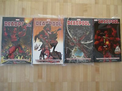 Deapool Complete Collection Vol. 1+ 2+ 3+ 4  US Marvel