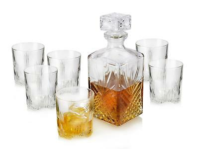 bormioli whiskyglas set karaffe deckel glas kristallglas whisky dekanter 1l eur 16 90. Black Bedroom Furniture Sets. Home Design Ideas