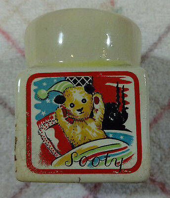 Vintage Collectable Egg Cup.  Sooty. Keele St. Ptt.co.ltd. A/f See Description
