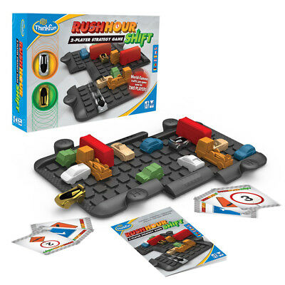 Thinkfun Rush Hour Shift Strategy Game NEW