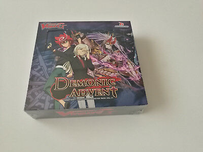 Cardfight Vanguard G: Demonic Advent Booster Display Box: 16 Packs NEW
