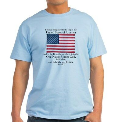 CafePress Pledge Of Allegiance T Shirt 100% Cotton T-Shirt (248065506)