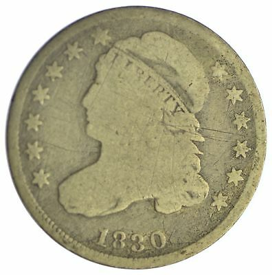 1830 Capped Bust Dime *XB79