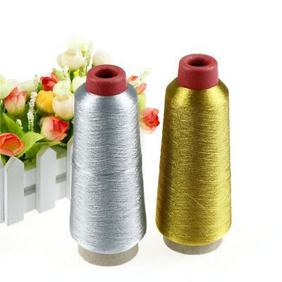 Gold/Silver Computer Cross-stitch Embroidery Threads 3000M Sewing Thread Line ES