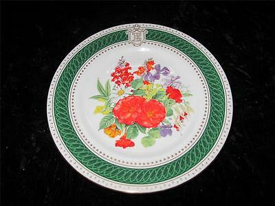 Commemorative Plate HRH Queen Mother's 85th Birthday 1985, Royal Crown Derby