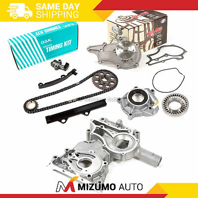 OSK JAPAN TIMING Chain Kit Cover GMB Water Pump Oil Pump Fit 83-84 Toyota  22R