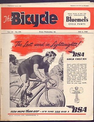 Vintage 36 page The Bicycle,Vol 28 No 696 1949  (YT1)
